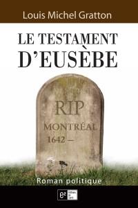 Couverture - Le testament d'Eusèbe